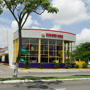 Where kids are king, or maybe a lot like large hamsters. This fast food outlet was almost destroyed by Hurricane Isador, but was one of the first damaged buildings to be rebuilt better than ever. Yum. <a href=></a>