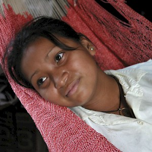 Soco May, age 16, dresses hip but sleeps in her hammock every night. She dreams of becoming a beautician someday.&quot; /&gt; <a href=></a>