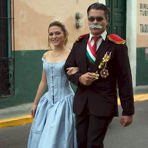nd some were dressed as dictators. This student portrays Porfirio Diaz, Mexico's infamous ruler in the early 20th Century <a href=></a>