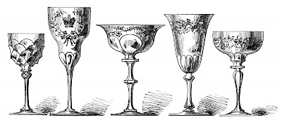 Wine glasses, like people, come in all shapes and sizes. <a href=></a>
