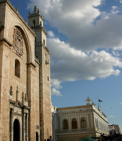 Cathedral in Merida <a href=></a>