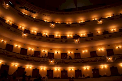 The audience at the Yucatan Symphony in Merida <a href=></a>