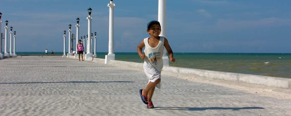 Running in Yucatan