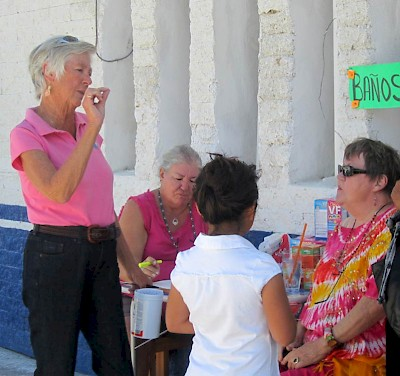 Sharon Helgason of the Chicxulub Food Bank near Progreso, Yucatan, Mexico <a href=></a>