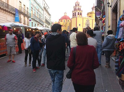 The streets during the festival <a href=></a>