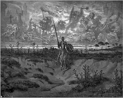 Don Quixote by Gustave Doré <a href=></a>