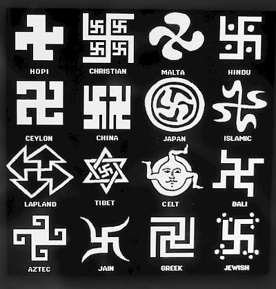 Swastikas from around the world. <a href=></a>