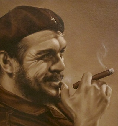 """Che"" Guevara, icon of the socialist revolution in Cuba. <a href=></a>"