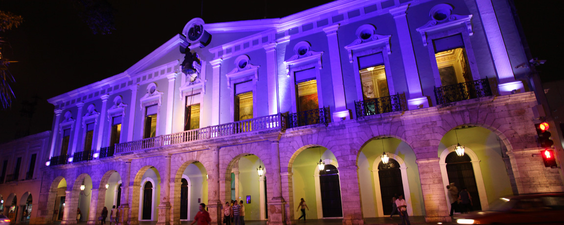 Merida Events: Video Mapping