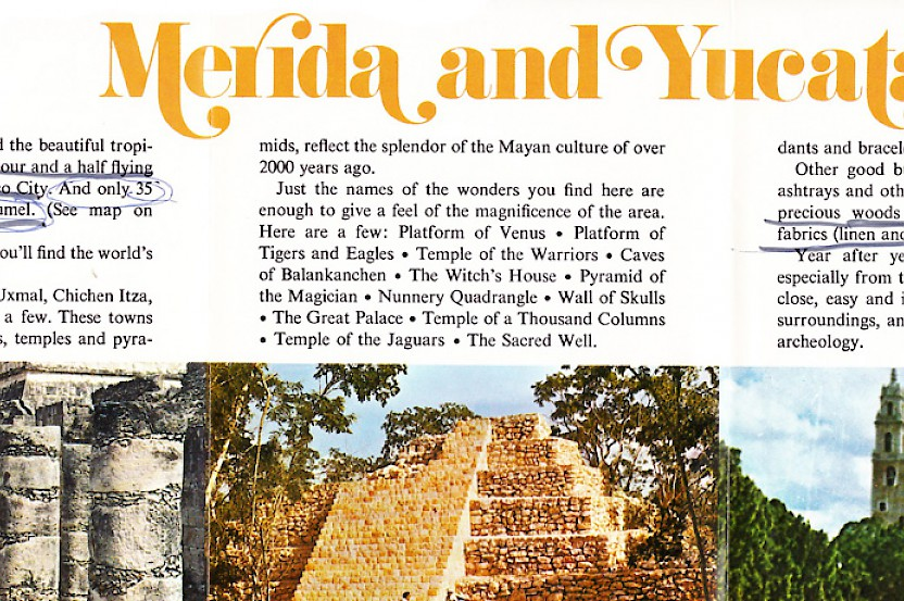 Yucatan Travel in the Seventies
