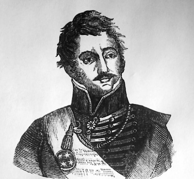 Sketch of General Martin Perfecto de Cos <a href=></a>