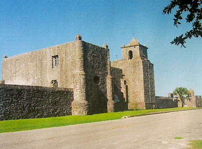 Presidio de la Bahia at Goliad where Colonel James Fanin was executed <a href=></a>