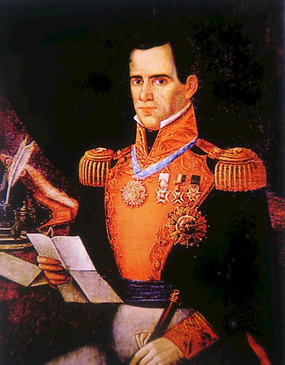 Portrait of General Santa Anna <a href=></a>