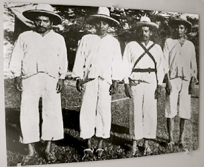 Maya combatants in the Caste War in Yucatan <a href=></a>