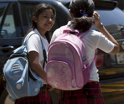School girls in Yucatan <a href=></a>