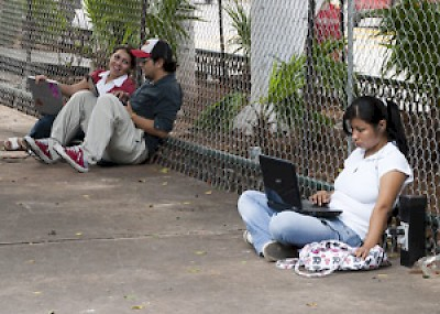 Laptops in the park <a href=></a>