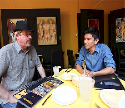 Working Gringo and Vladimir in Merida, Yucatan <a href=></a>