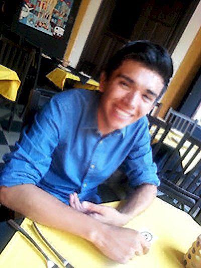Vladimir, CAPP student, at Amaro in Merida Yucatan <a href=></a>