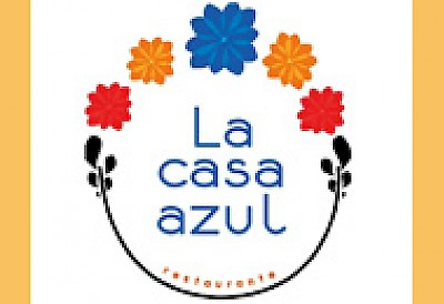 Casa Azul restaurant in Merida Yucatan <a href=></a>
