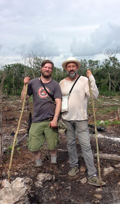 Allesandro Porcelli and Jeremy Charles in Yucatan for Cook It Raw <a href=></a>