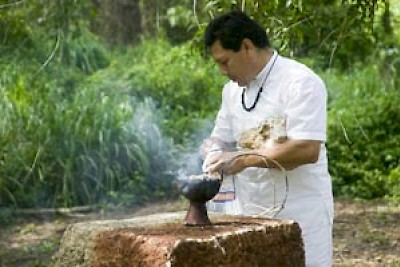 Maya Ceremony in Yucatan <a href=></a>
