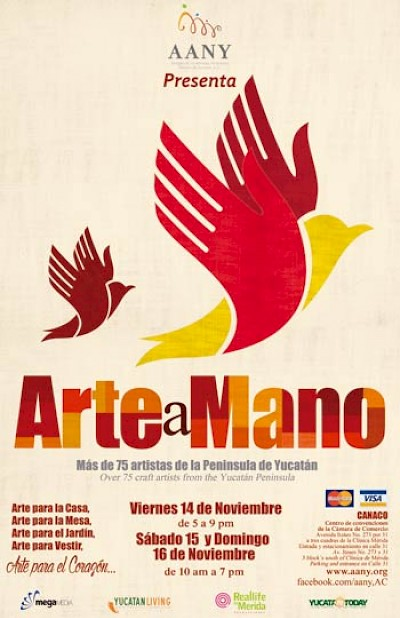 AANY Arte e Mano crafts fair in Merida Yucatan <a href=></a>