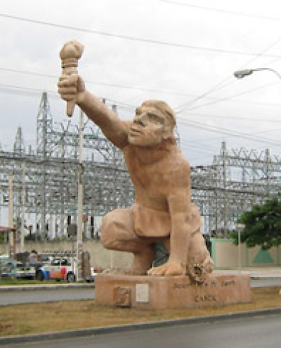 Jacinto Canek monument in Merida <a href=></a>