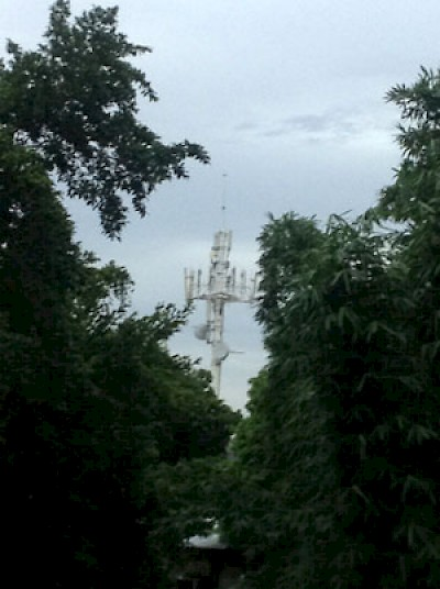Cel Phone Tower View <a href=></a>