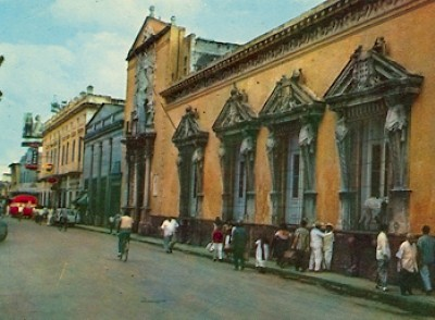 downtown scene in Merida Yucatan <a href=></a>