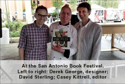 David Sterling With Yucatan Cookbook <a href=></a>