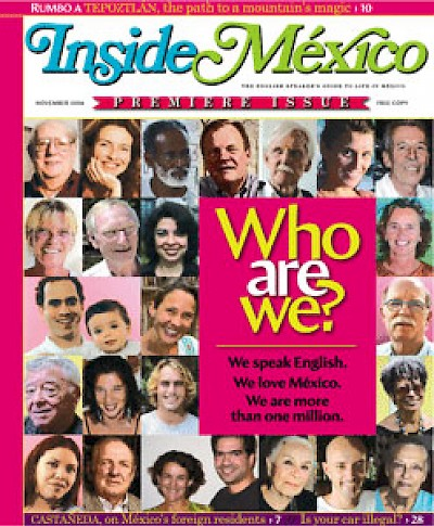 Inside Mexico cover page