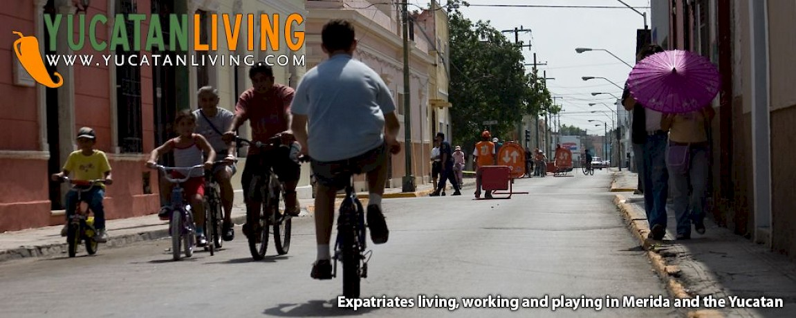 Biking in Merida